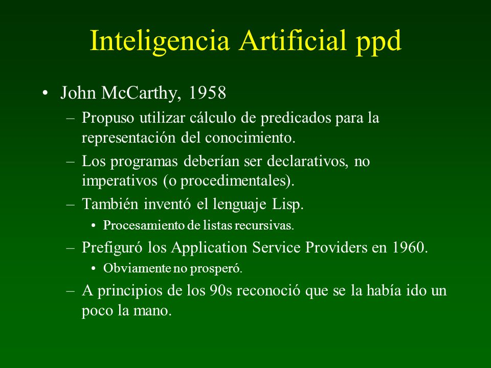 Inteligencia Artificial ppd