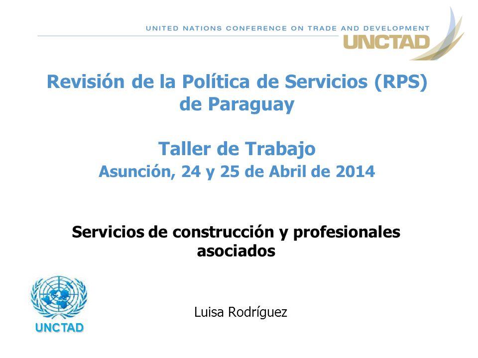 Servicios de construcción y profesionales asociados