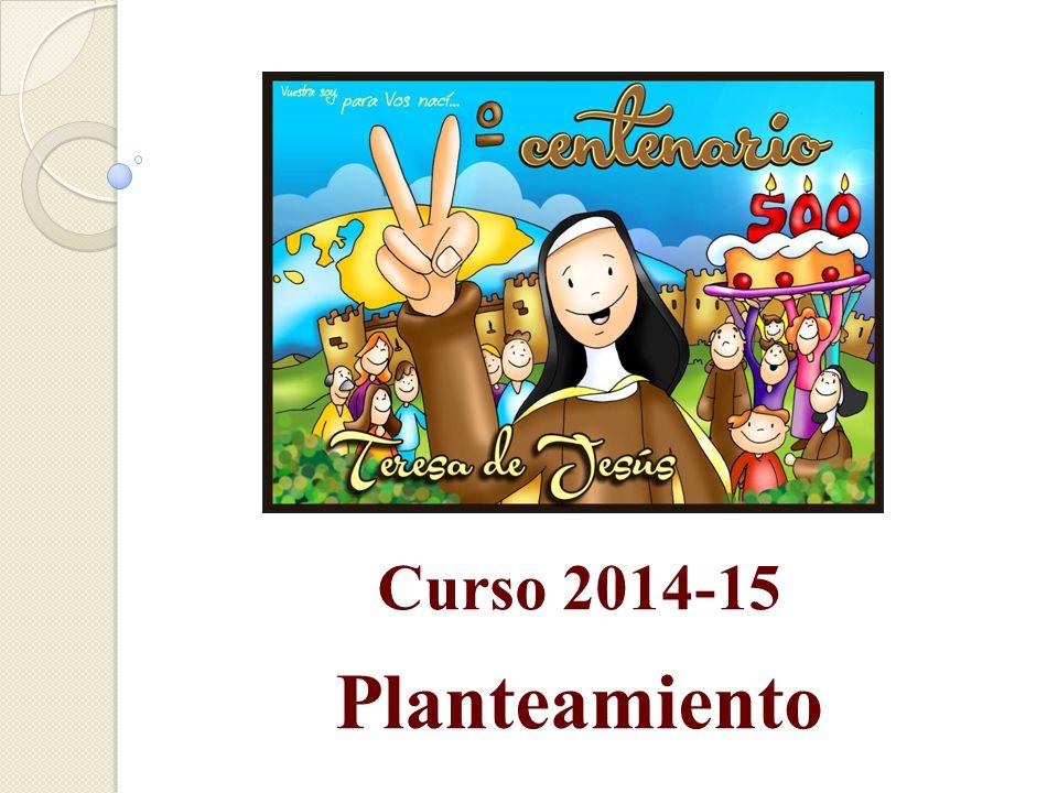 Curso 2014-15 Planteamiento