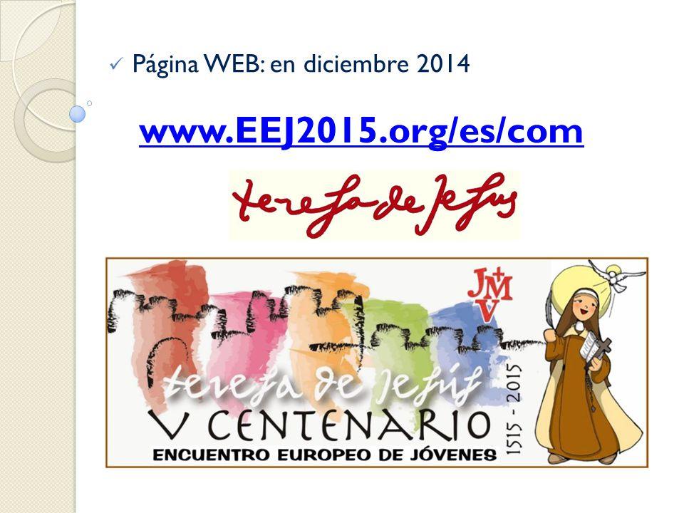 Página WEB: en diciembre 2014