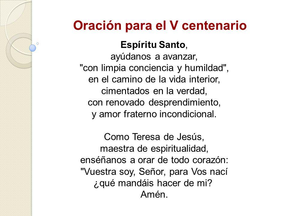 Oración para el V centenario