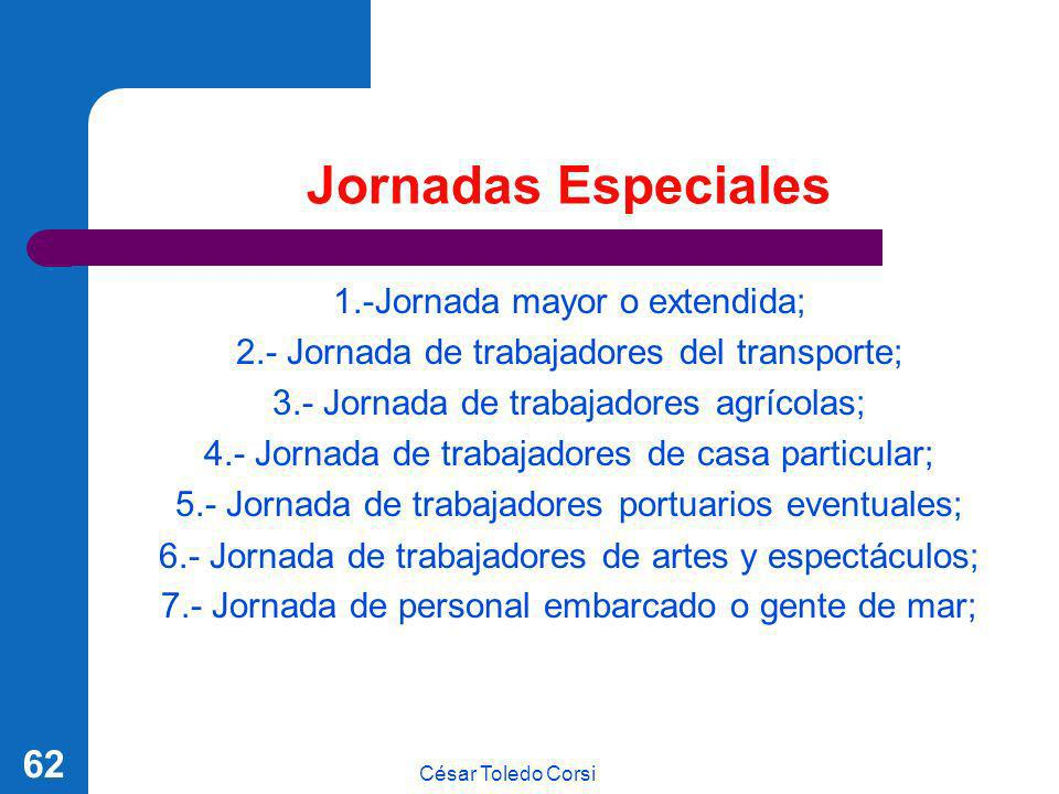 Jornadas Especiales 1.-Jornada mayor o extendida;