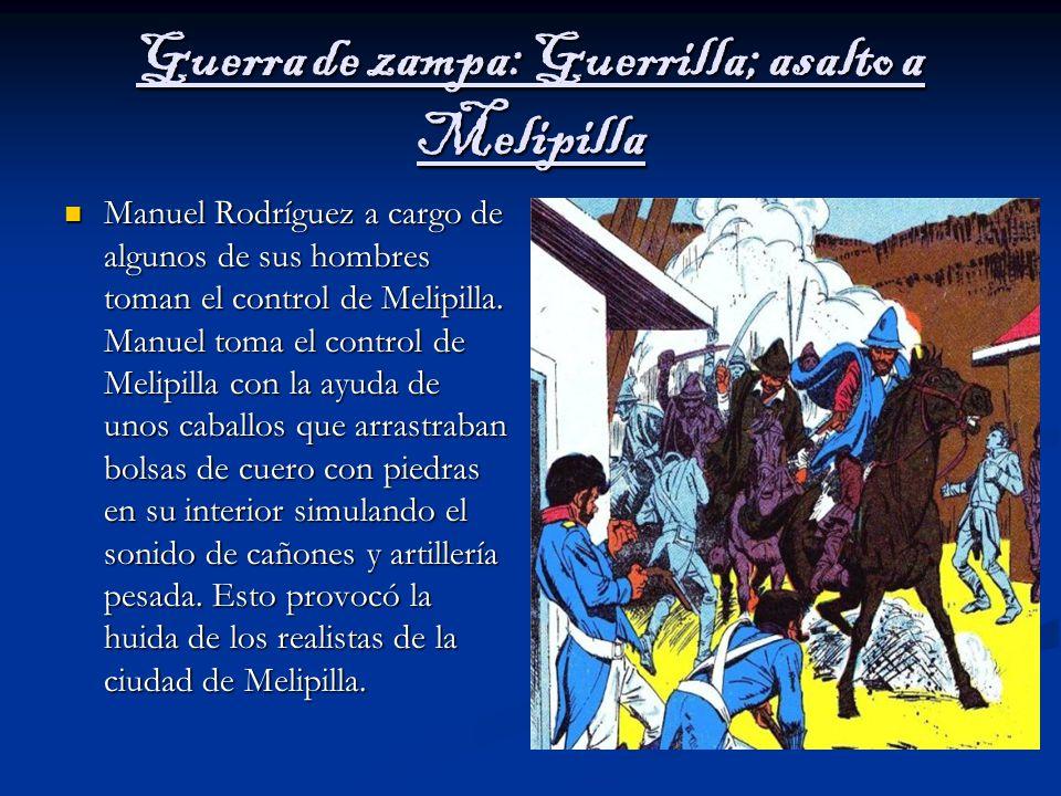 Guerra de zampa: Guerrilla; asalto a Melipilla