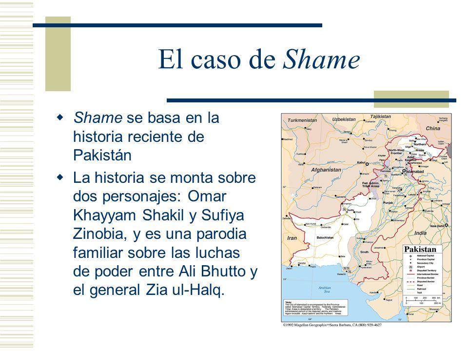 El caso de Shame Shame se basa en la historia reciente de Pakistán