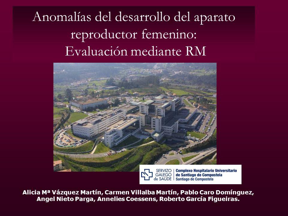 Anomalías del desarrollo del aparato reproductor femenino: Evaluación mediante RM