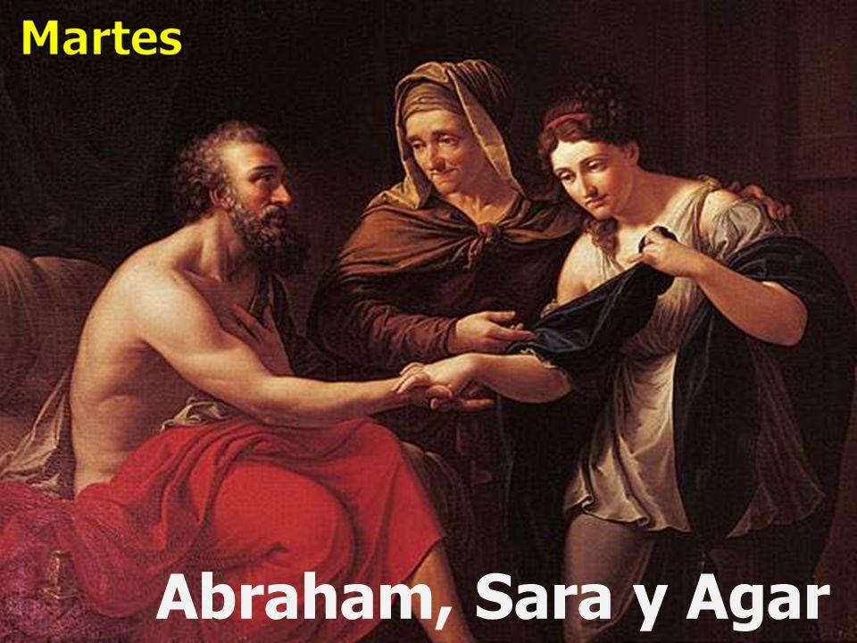 Abraham, Sara y Agar