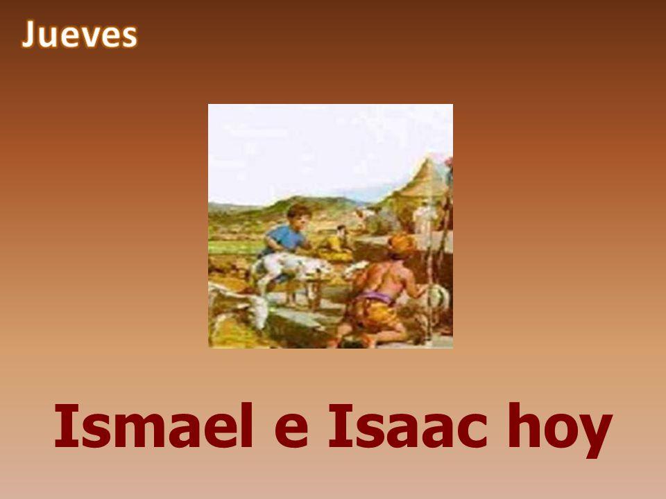 Jueves Ismael e Isaac hoy