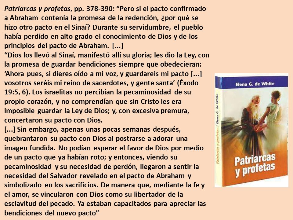 Patriarcas y profetas, pp