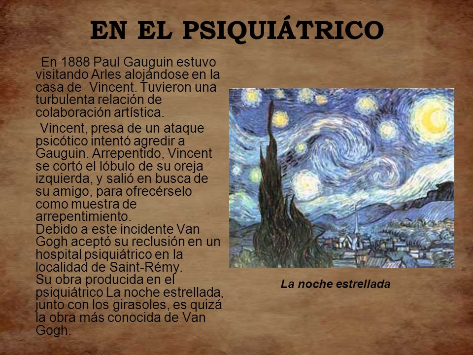 EN EL PSIQUIÁTRICO