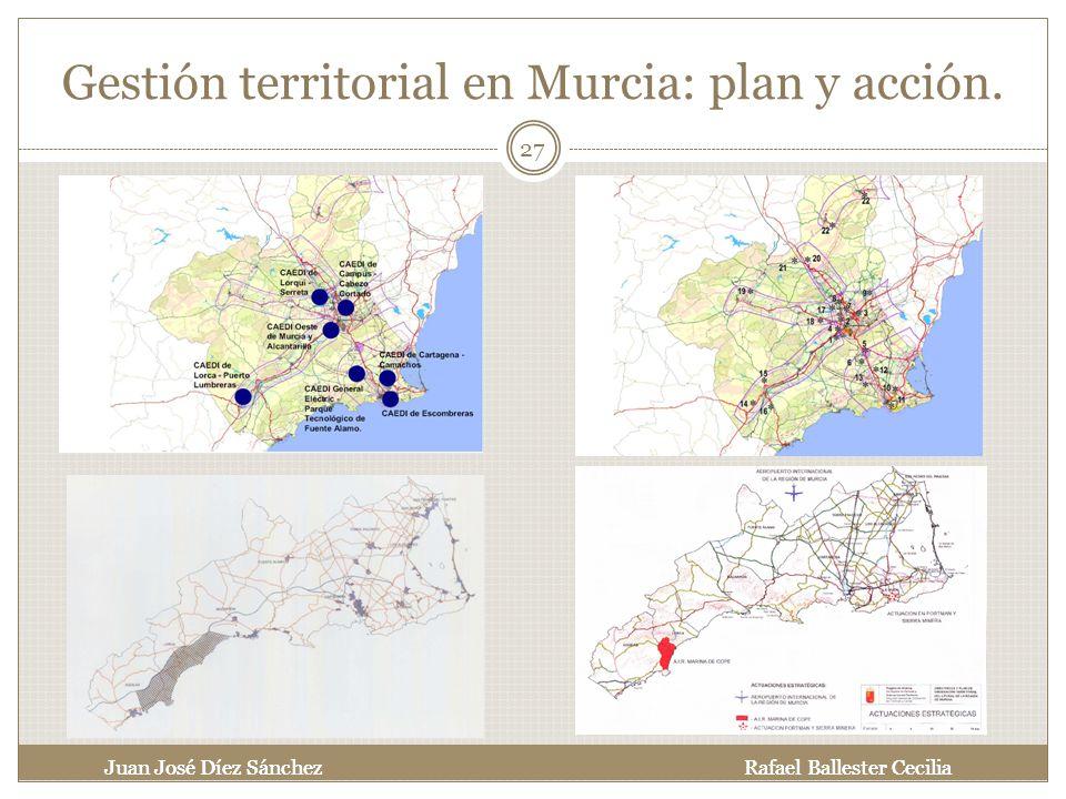 Gestión territorial en Murcia: plan y acción.