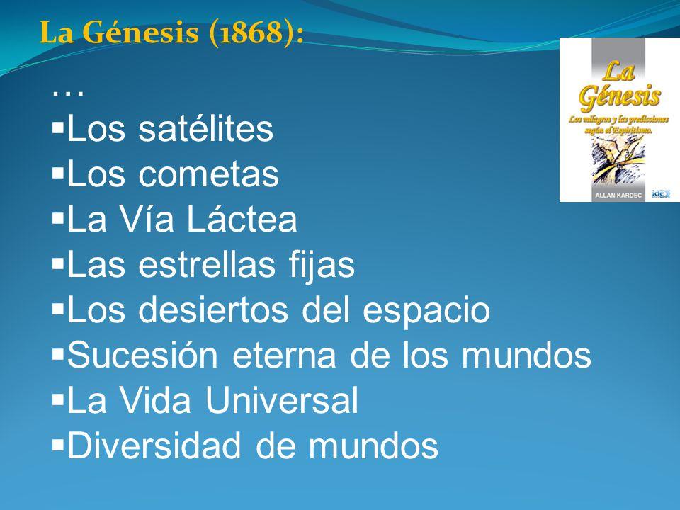 Los desiertos del espacio Sucesión eterna de los mundos