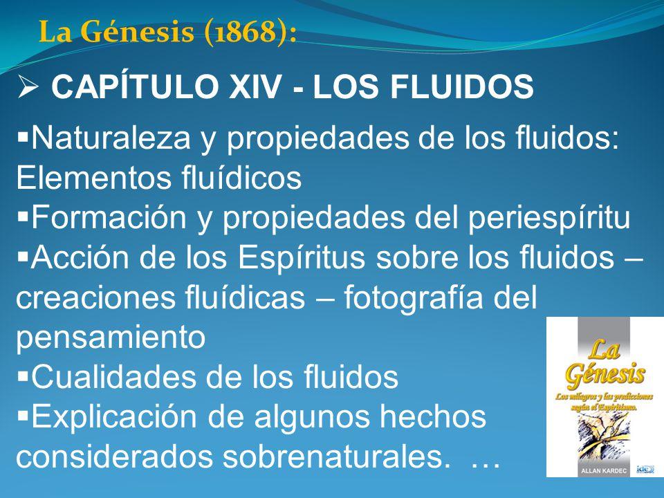CAPÍTULO XIV - LOS FLUIDOS