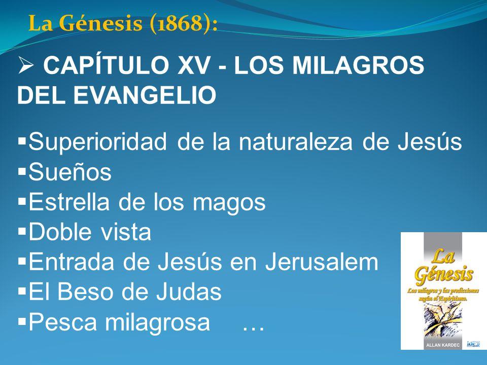 CAPÍTULO XV - LOS MILAGROS DEL EVANGELIO