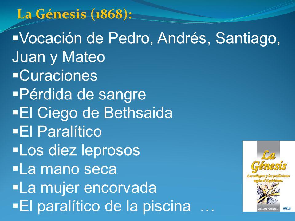 Vocación de Pedro, Andrés, Santiago, Juan y Mateo Curaciones