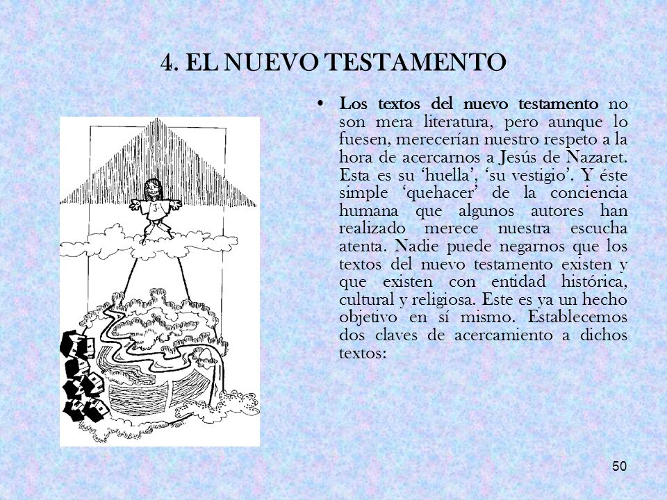 4. EL NUEVO TESTAMENTO