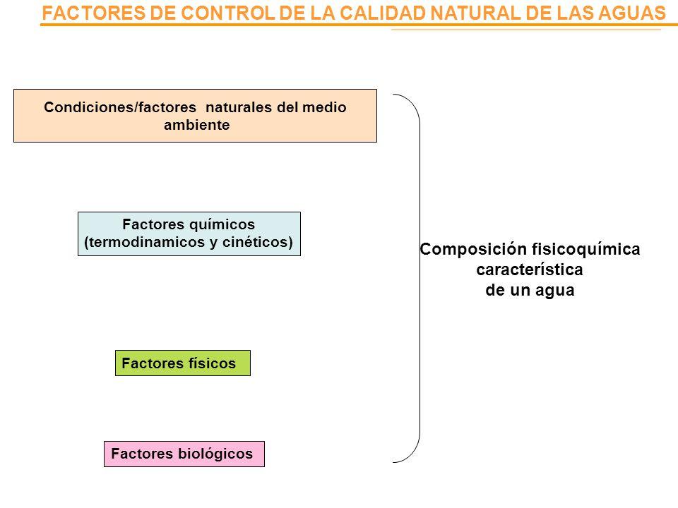 Composición fisicoquímica