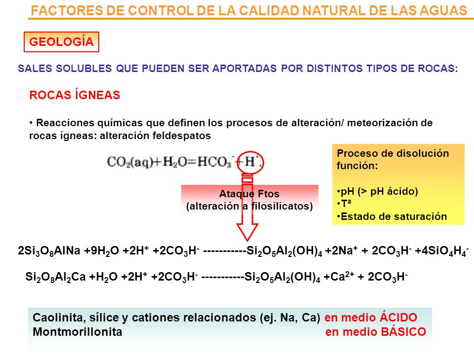 (alteración a filosilicatos)