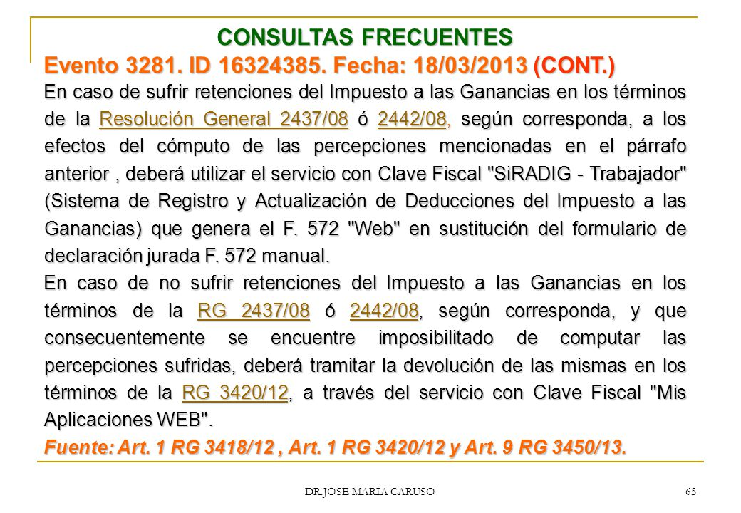Evento 3281. ID 16324385. Fecha: 18/03/2013 (CONT.)