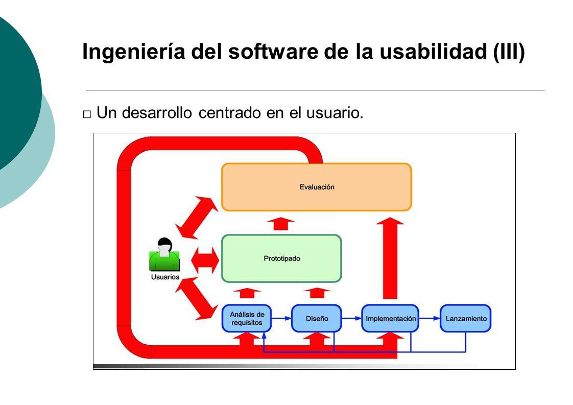 Ingeniería del software de la usabilidad (III)