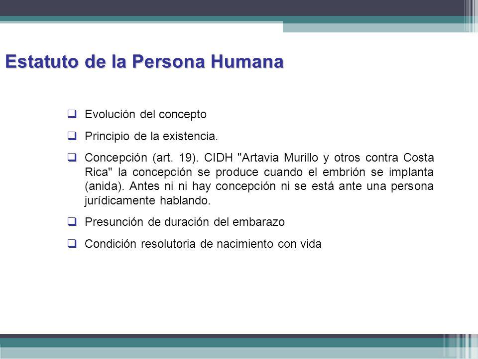 Estatuto de la Persona Humana