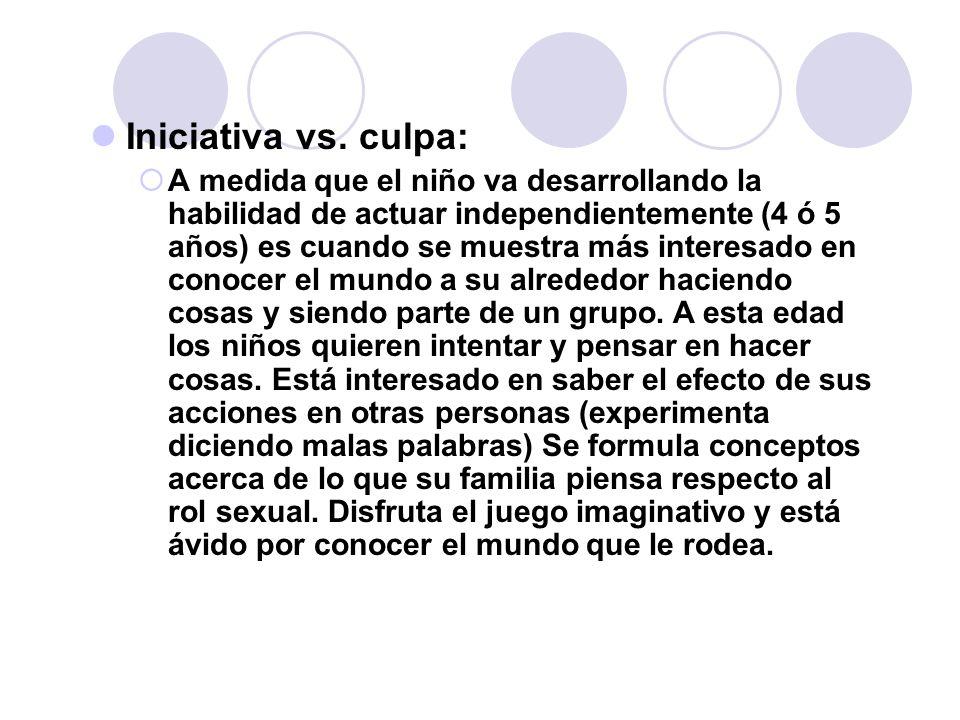 Iniciativa vs. culpa: