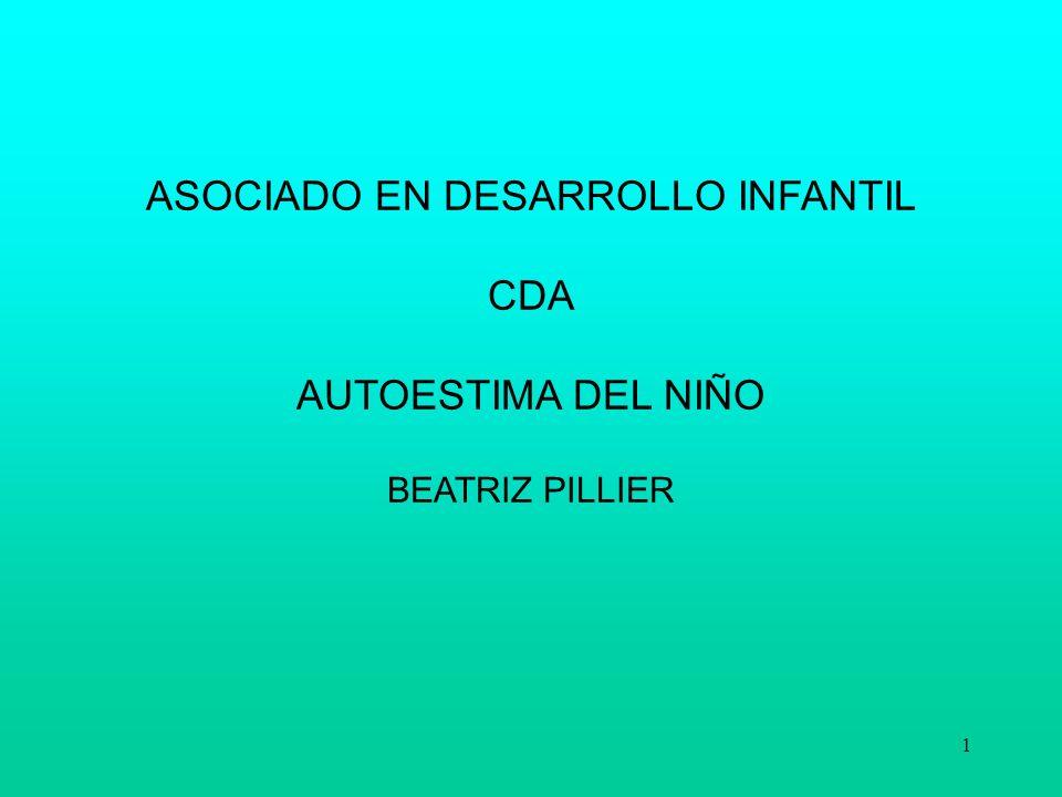 ASOCIADO EN DESARROLLO INFANTIL