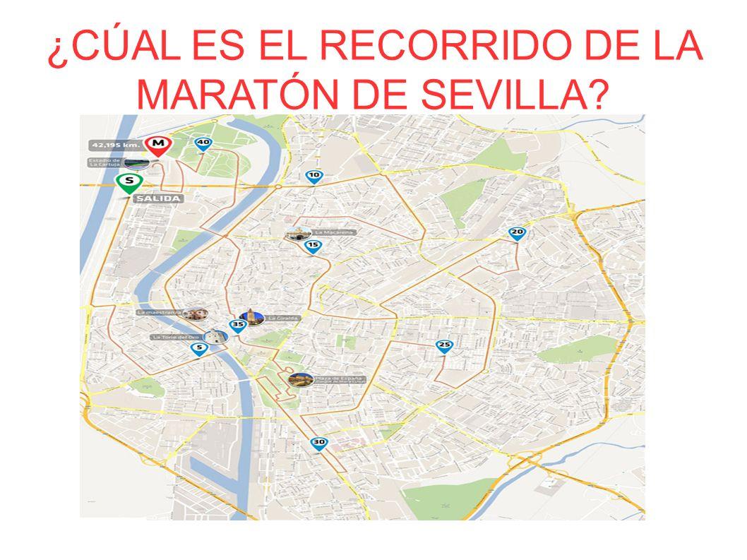 ¿CÚAL ES EL RECORRIDO DE LA MARATÓN DE SEVILLA