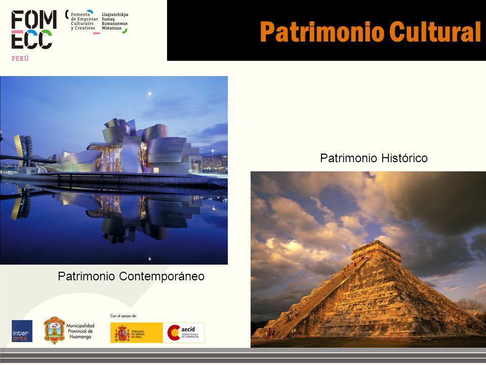 Patrimonio Cultural . to Patrimonio Histórico Patrimonio Contemporáneo