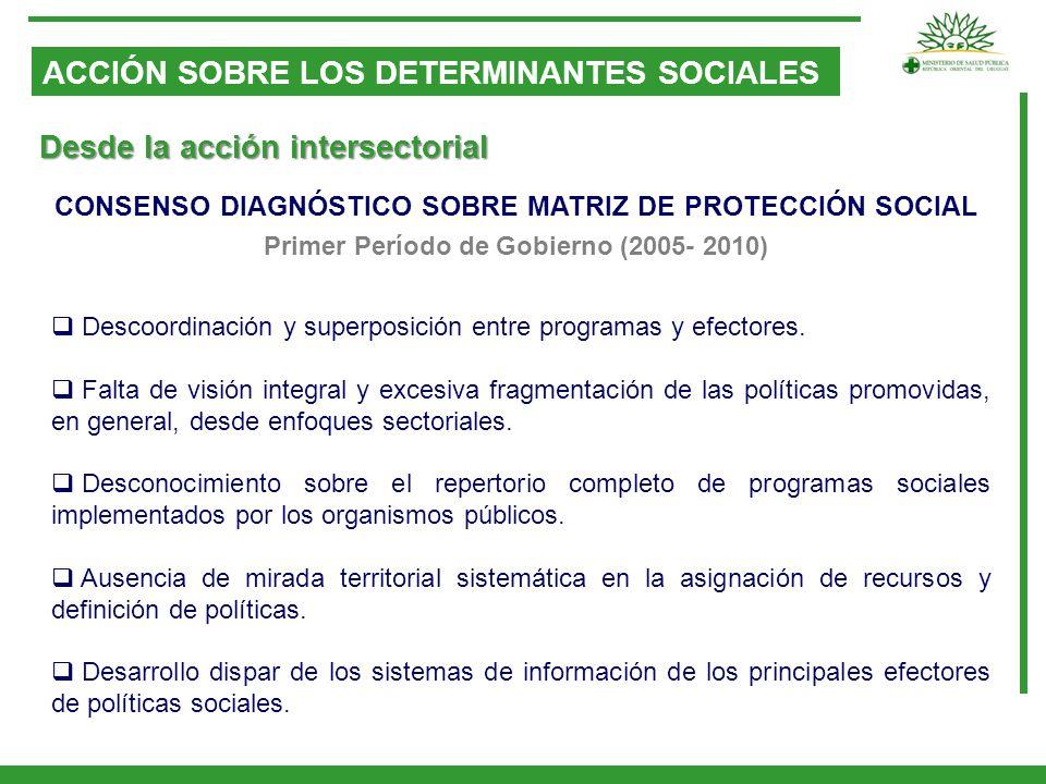 ACCIÓN SOBRE LOS DETERMINANTES SOCIALES