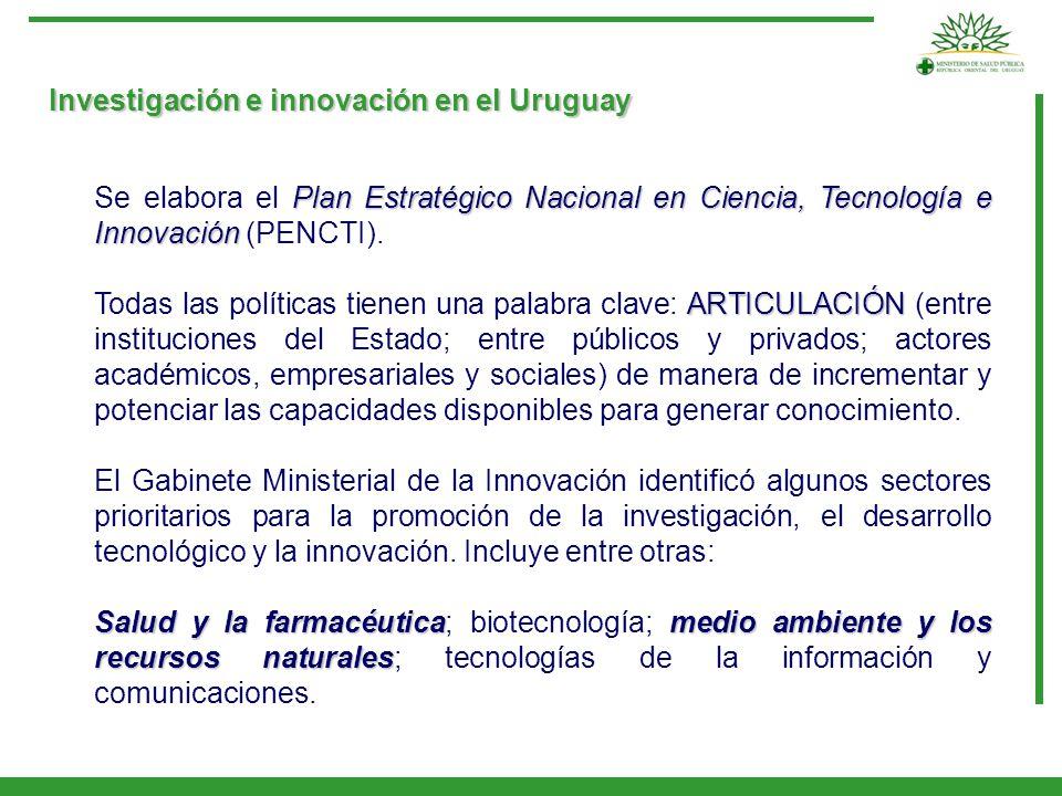 Investigación e innovación en el Uruguay