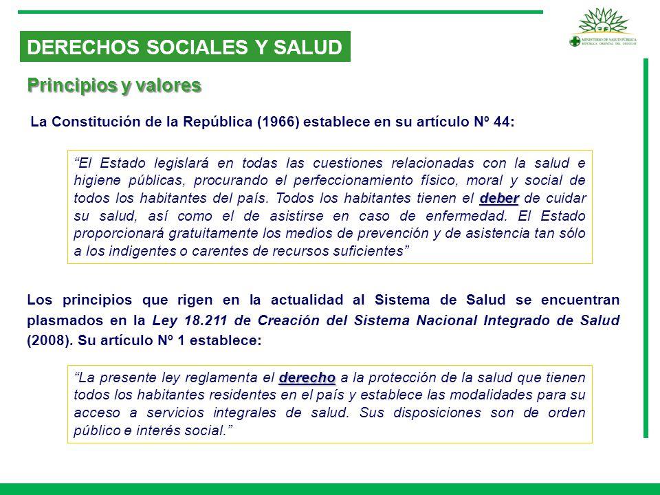 DERECHOS SOCIALES Y SALUD