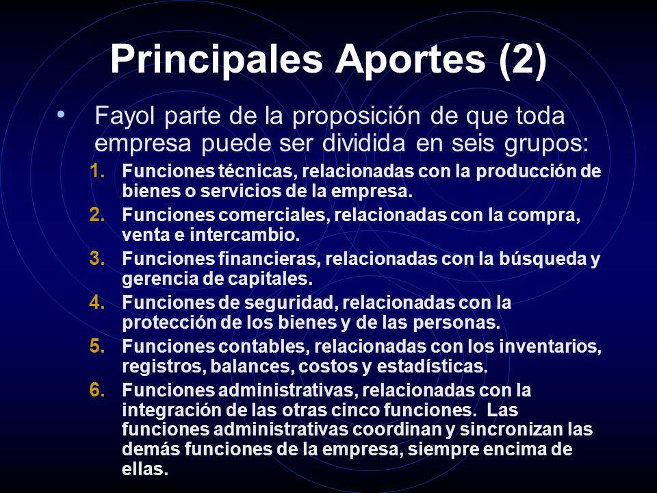 Principales Aportes (2)