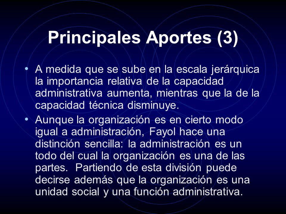 Principales Aportes (3)