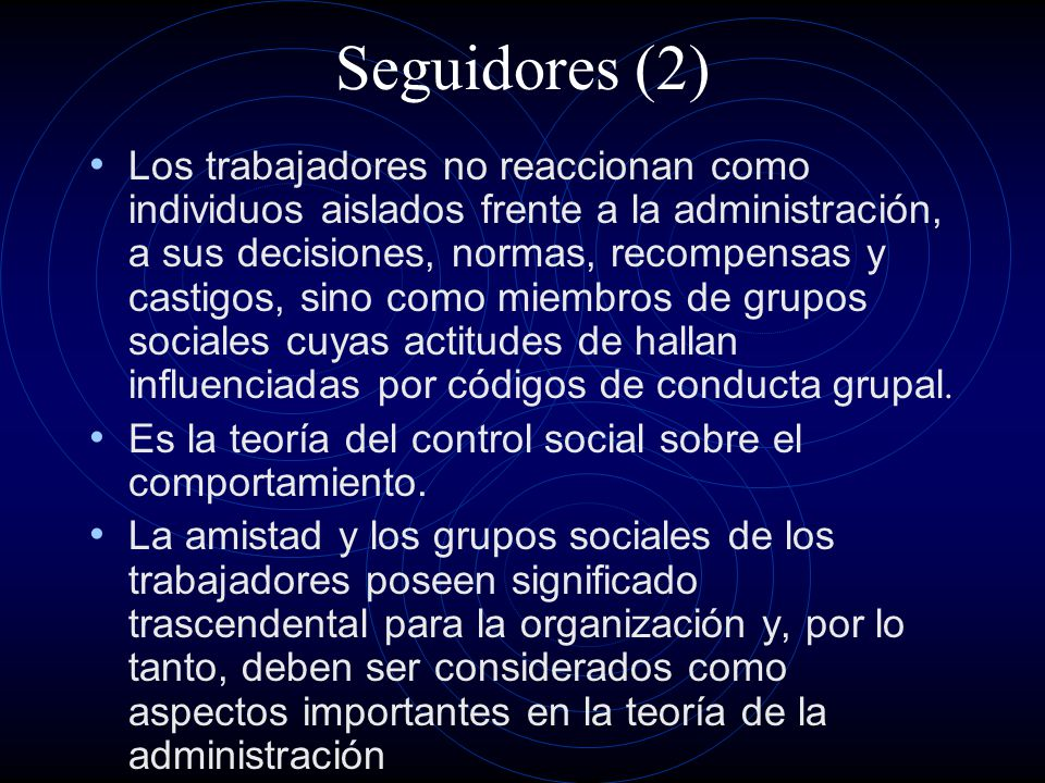 Seguidores (2)