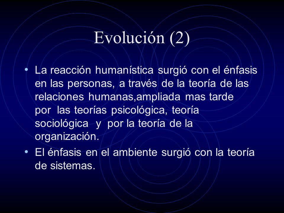 Evolución (2)