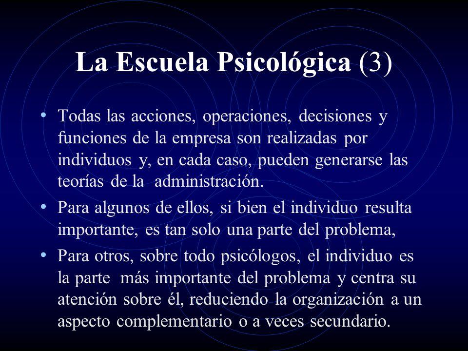 La Escuela Psicológica (3)