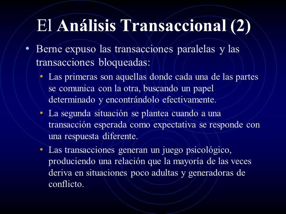 El Análisis Transaccional (2)