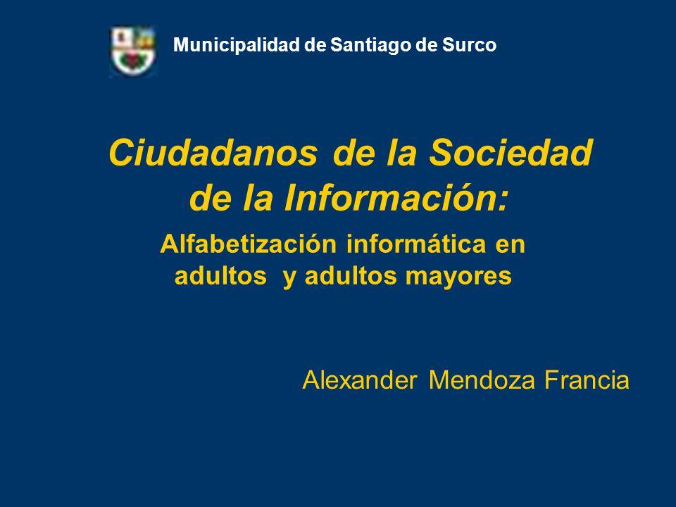 Ciudadanos de la Sociedad de la Información: