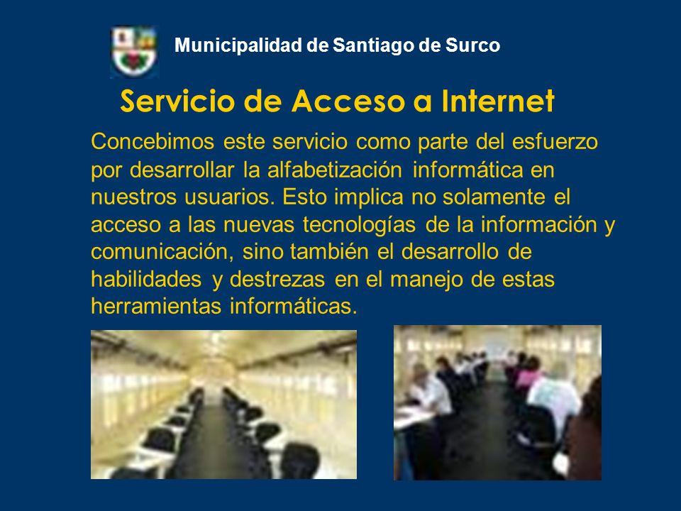 Servicio de Acceso a Internet