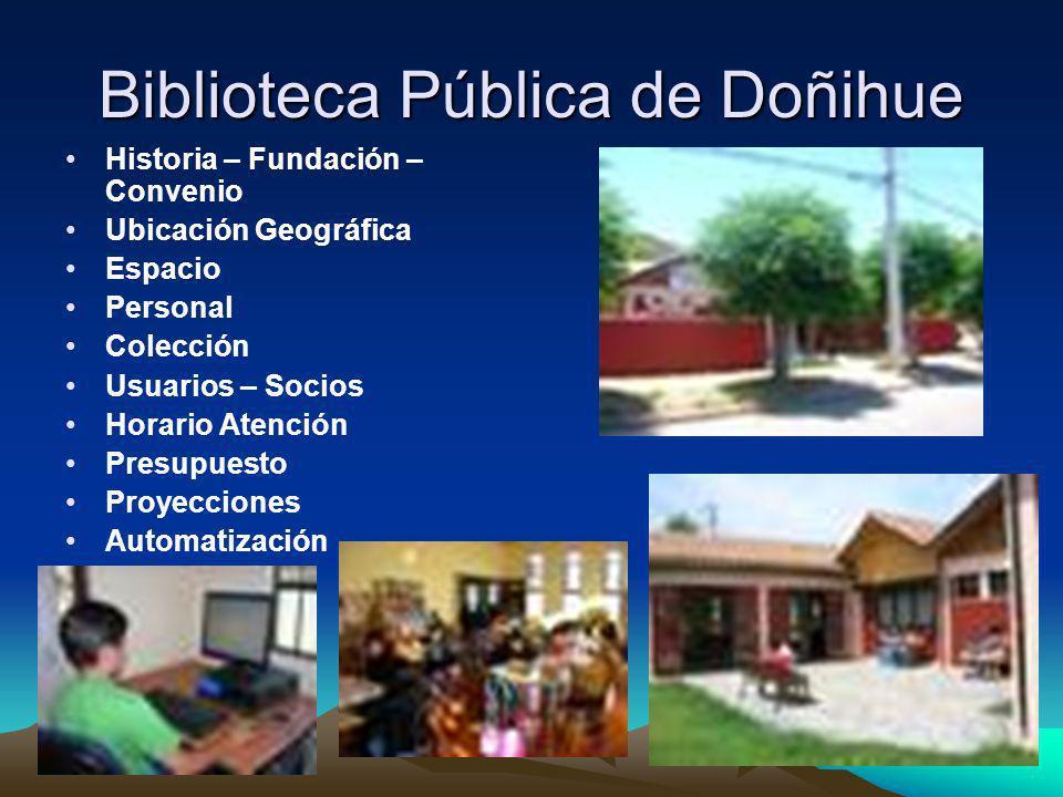 Biblioteca Pública de Doñihue