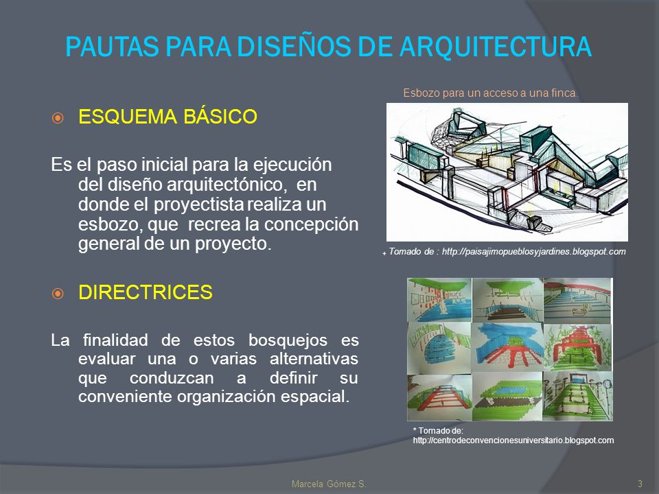 Pautas para dise os de arquitectura ppt descargar for Arte arquitectura y diseno definicion