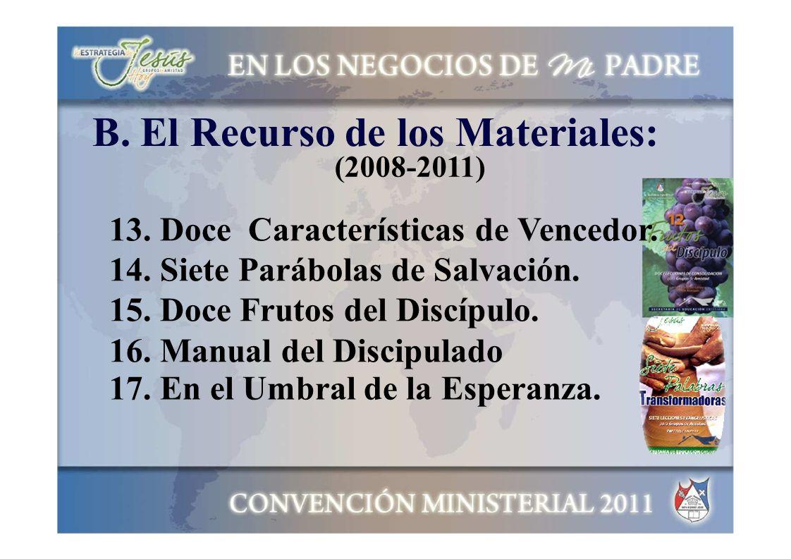 B. El Recurso de los Materiales: