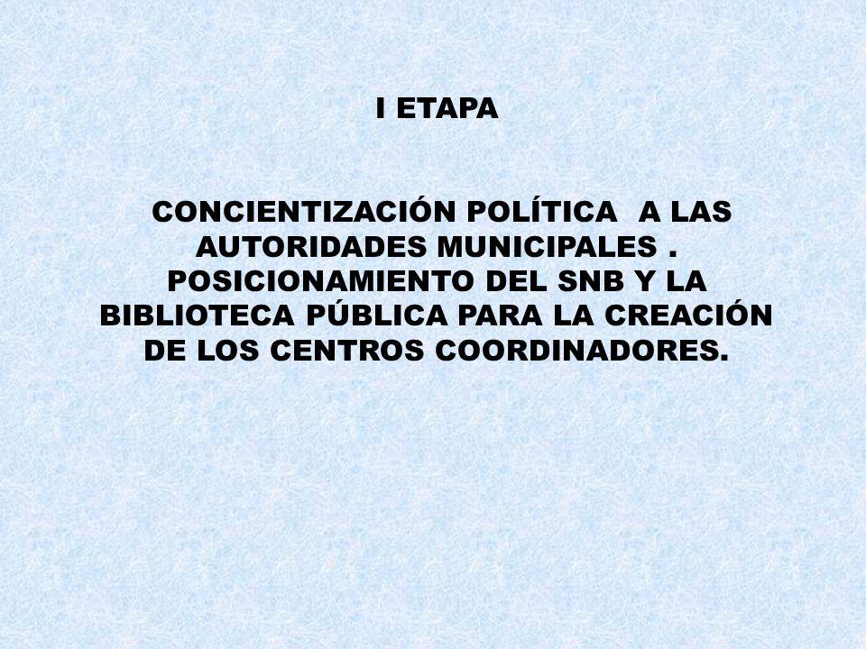 I ETAPA