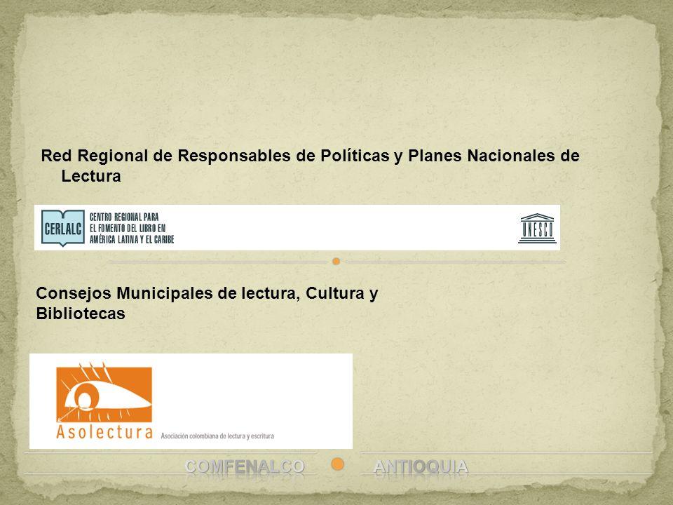 Red Regional de Responsables de Políticas y Planes Nacionales de Lectura