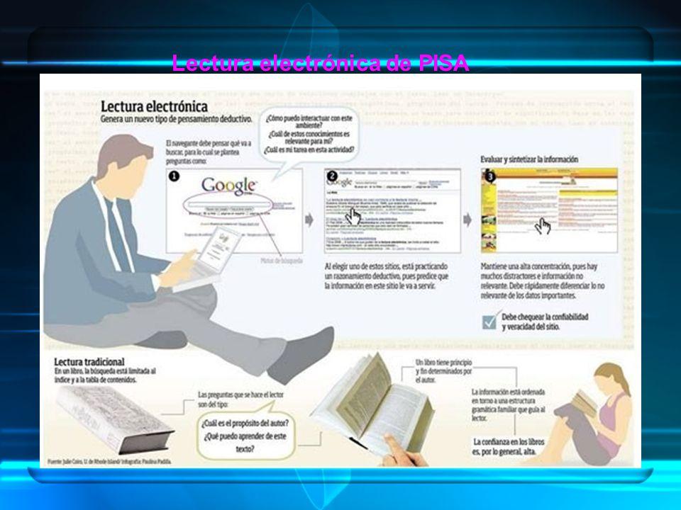 Lectura electrónica de PISA