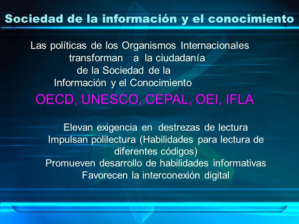 Sociedad de la información y el conocimiento
