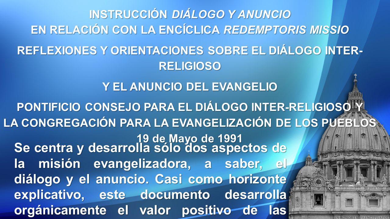 INSTRUCCIÓN DIÁLOGO Y ANUNCIO