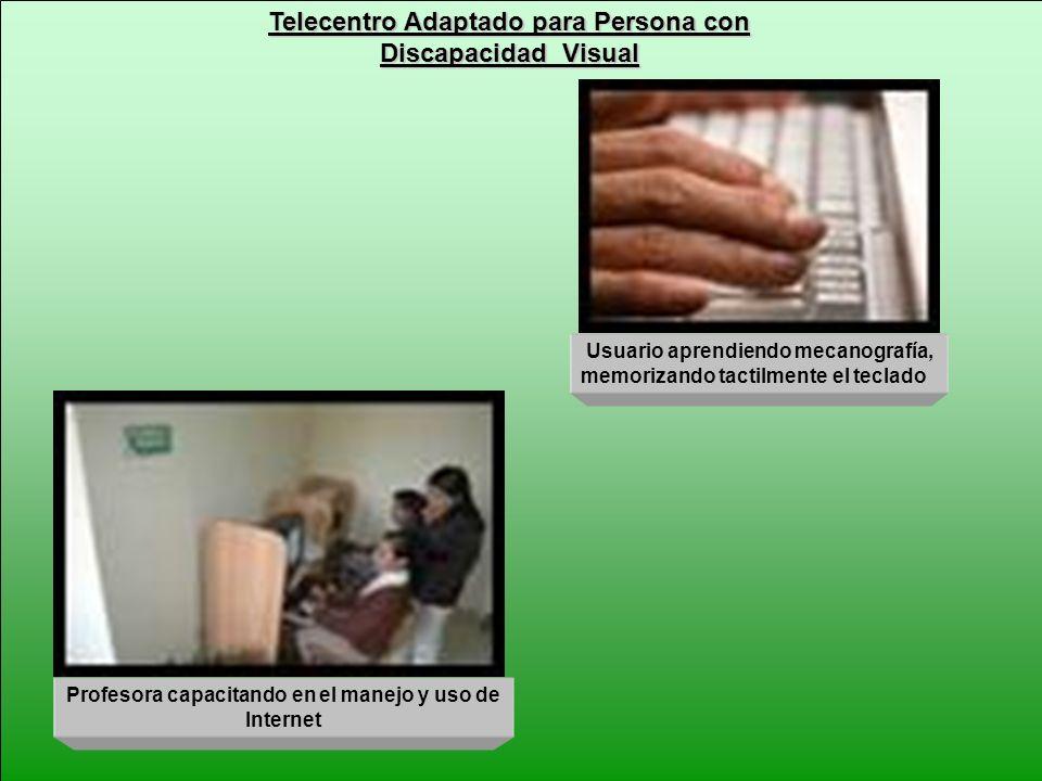 Telecentro Adaptado para Persona con
