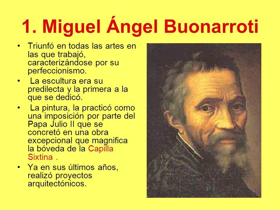 1. Miguel Ángel Buonarroti