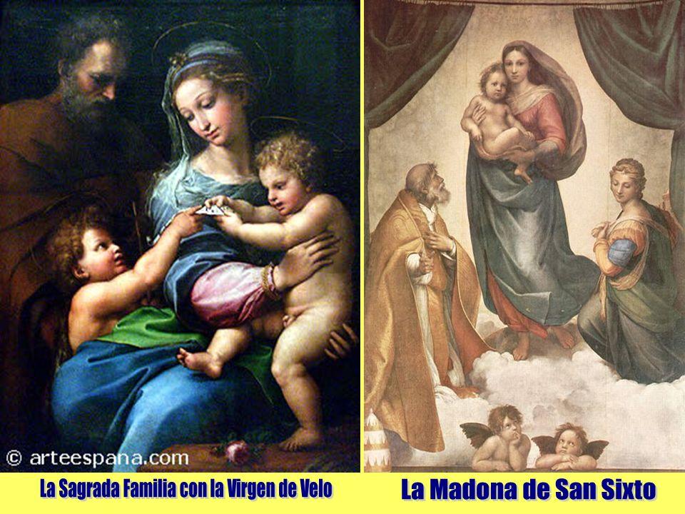 La Sagrada Familia con la Virgen de Velo
